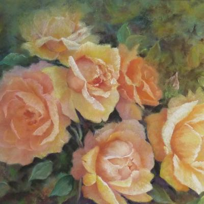 Pastel de Liliane Tourreau